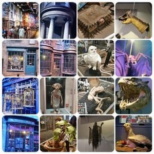Några bilder från vår Harry Potter äventyr 😍