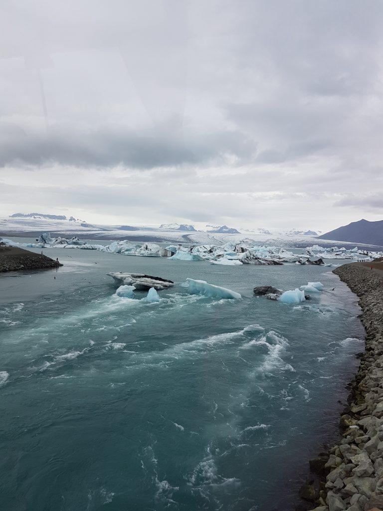 Glaciärlagunen Jokulsarlon