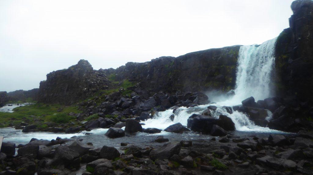 Vattenfallet Öxarárfoss